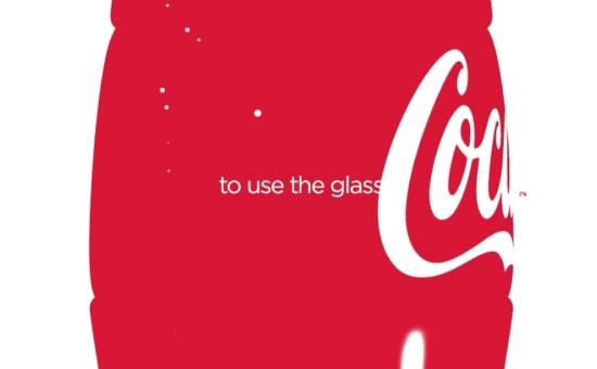 coca cola-glass